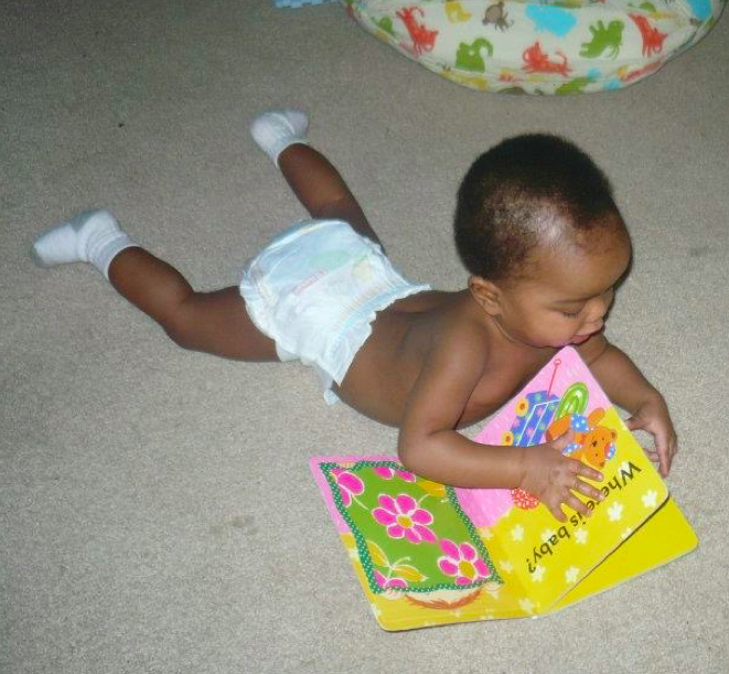 book-as-baby