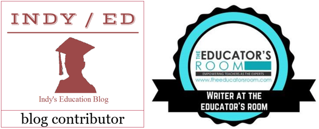 writing badges indy ed and ter